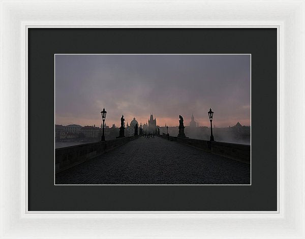 Charles Bridge In Prague, Czech Republic - Framed Print from Wallasso - The Wall Art Superstore