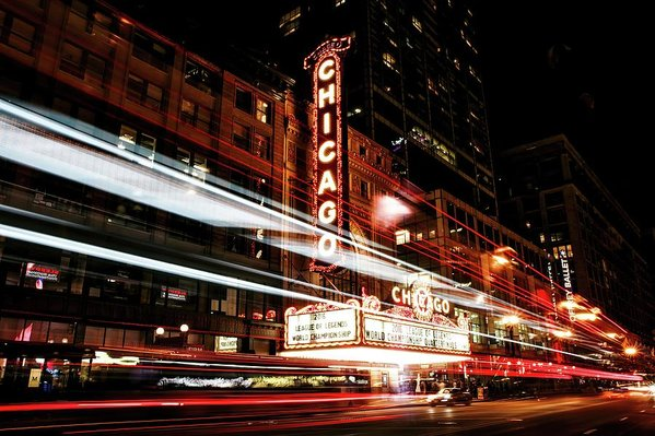 Chicago Theatre Sign - Art Print from Wallasso - The Wall Art Superstore