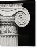 Column Detail - Canvas Print from Wallasso - The Wall Art Superstore