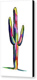 Contemporary Cactus by Jessica Contreras - Canvas Print from Wallasso - The Wall Art Superstore