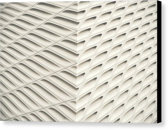Cream Colored Abstract Pattern - Canvas Print from Wallasso - The Wall Art Superstore