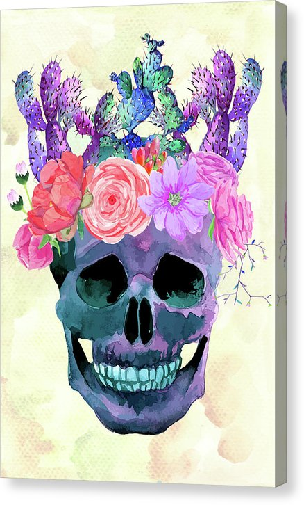 Crown Of Cacti - Canvas Print from Wallasso - The Wall Art Superstore