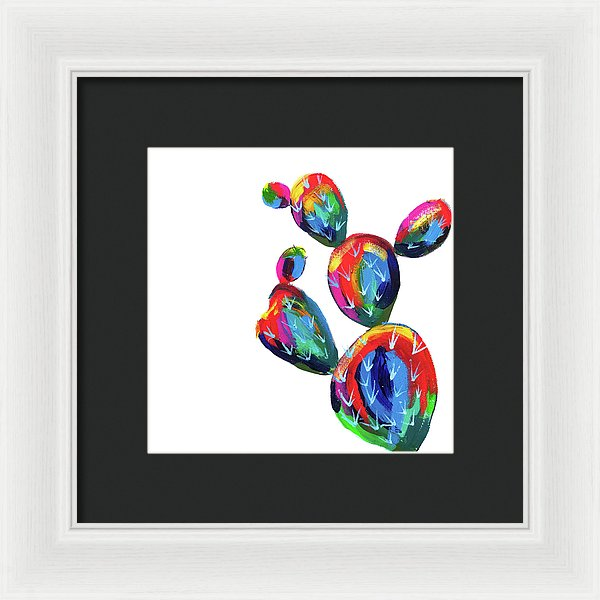 Desert Paddle Cactus Square by Jessica Contreras - Framed Print from Wallasso - The Wall Art Superstore