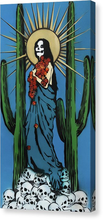 Diosa de las Maravillas by Jessica Contreras - Canvas Print from Wallasso - The Wall Art Superstore