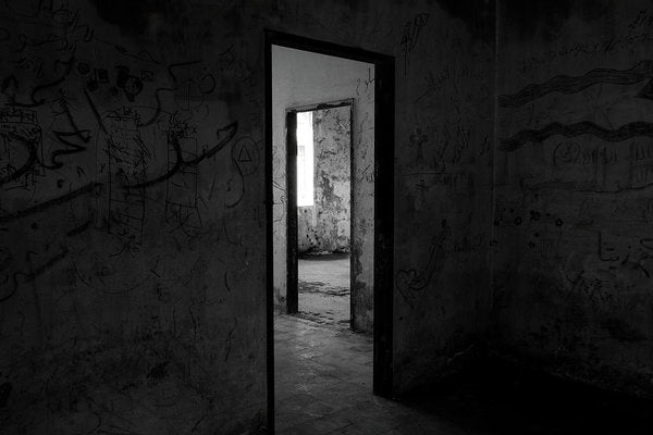 Doorways In An Abandoned House - Art Print from Wallasso - The Wall Art Superstore