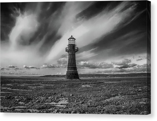 Dramatic Lighthouse - Canvas Print from Wallasso - The Wall Art Superstore