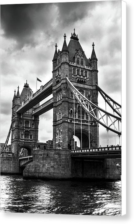 Dramatic Tower Bridge - Canvas Print from Wallasso - The Wall Art Superstore