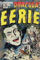 Eerie Dracula, Vintage Comic Book Alternate - Art Print from Wallasso - The Wall Art Superstore