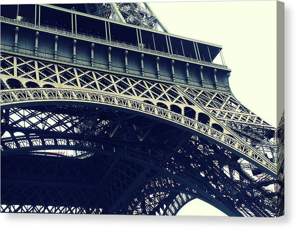 Eiffel Tower Detail - Canvas Print from Wallasso - The Wall Art Superstore