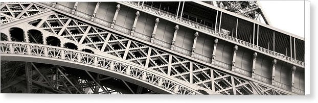 Eiffel Tower Panorama - Canvas Print from Wallasso - The Wall Art Superstore