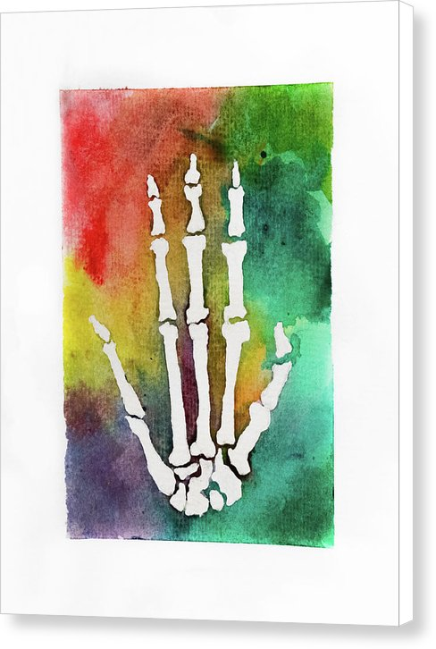 El Mano by Jessica Contreras - Canvas Print from Wallasso - The Wall Art Superstore