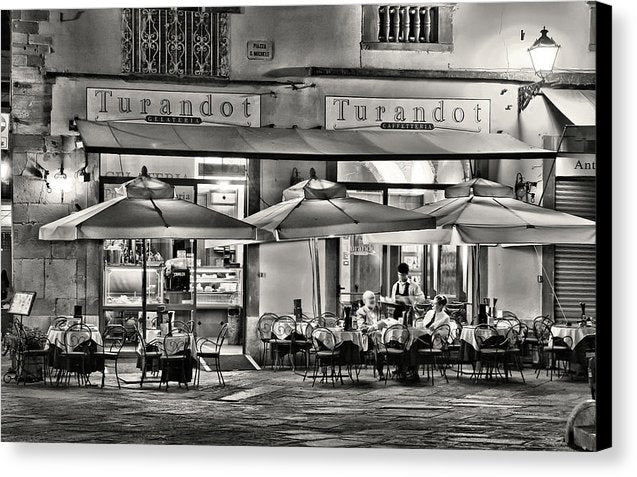 European Bistro - Canvas Print from Wallasso - The Wall Art Superstore