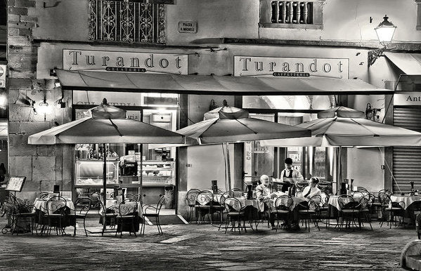 European Bistro - Art Print from Wallasso - The Wall Art Superstore
