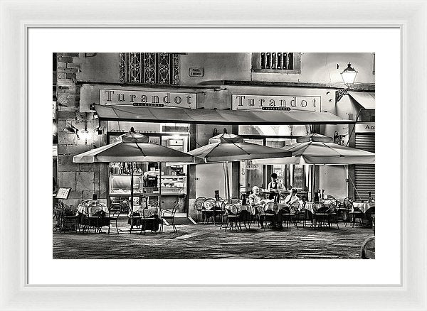 European Bistro - Framed Print from Wallasso - The Wall Art Superstore