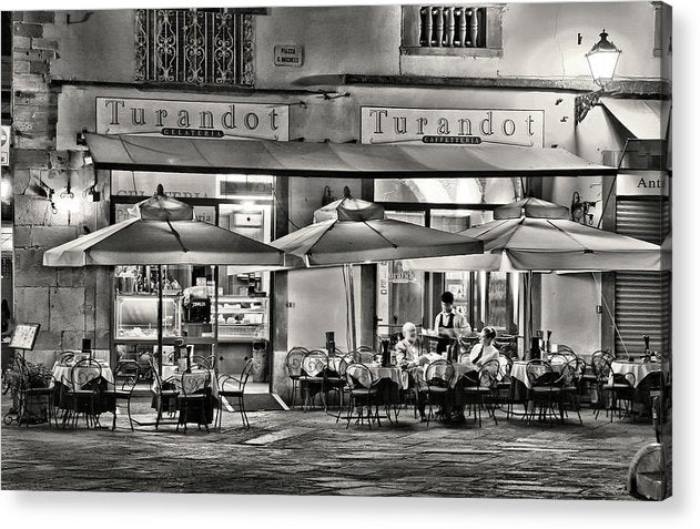 European Bistro - Acrylic Print from Wallasso - The Wall Art Superstore