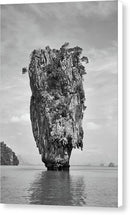 Famous Thailand Rock Tower Ko Ta Pu - Canvas Print from Wallasso - The Wall Art Superstore