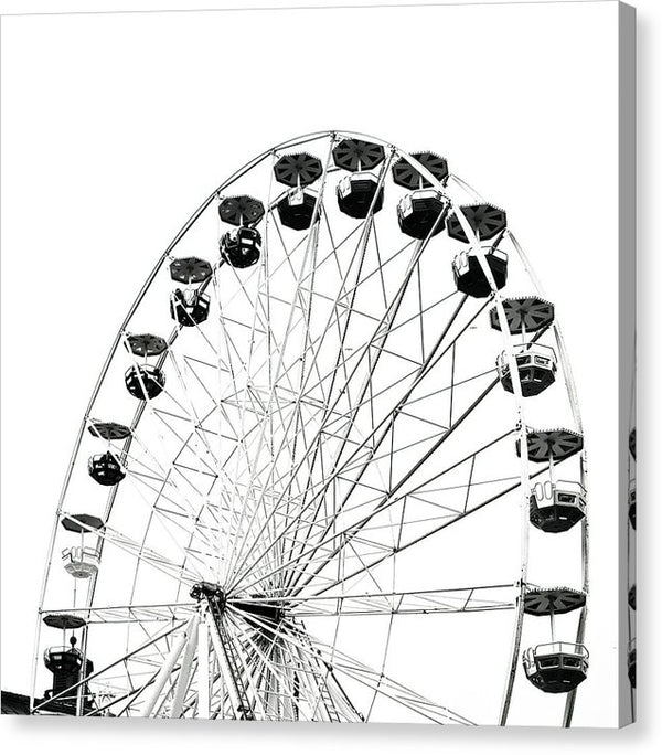 Ferris Wheel, Square - Canvas Print from Wallasso - The Wall Art Superstore