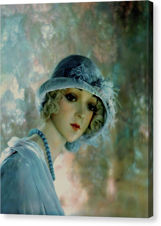 Flapper Mannequin In Cloche Hat, 1929 - Canvas Print from Wallasso - The Wall Art Superstore