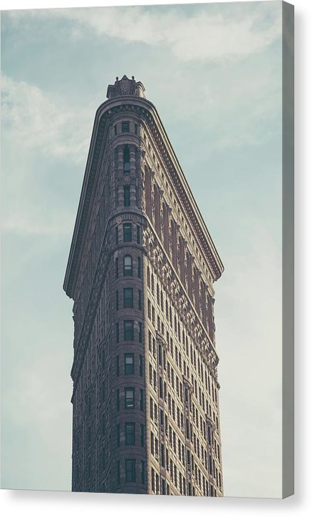 Flatiron Building, Manhattan - Canvas Print from Wallasso - The Wall Art Superstore