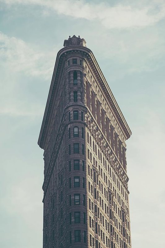 Flatiron Building, Manhattan - Art Print from Wallasso - The Wall Art Superstore