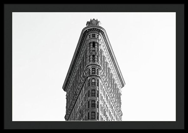 Flatiron Building, New York City - Framed Print from Wallasso - The Wall Art Superstore