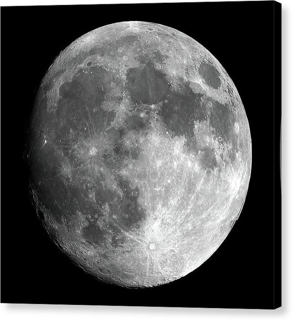 Full Moon - Canvas Print from Wallasso - The Wall Art Superstore