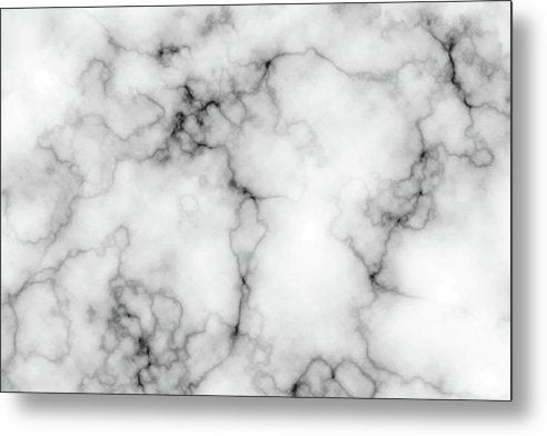 Grey Marble Texture - Metal Print from Wallasso - The Wall Art Superstore
