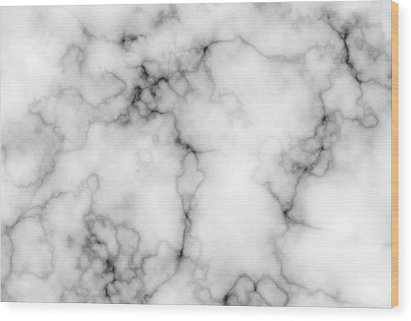 Grey Marble Texture - Wood Print from Wallasso - The Wall Art Superstore