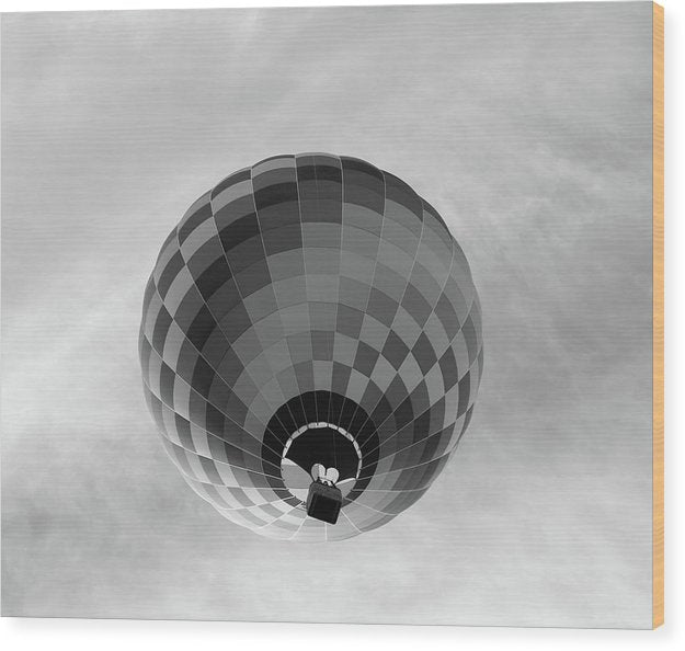 Hot Air Balloon - Wood Print from Wallasso - The Wall Art Superstore