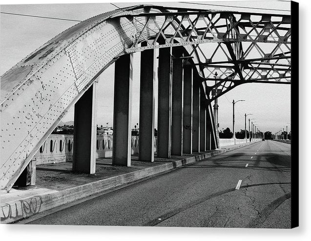 Industrial Bridge - Canvas Print from Wallasso - The Wall Art Superstore