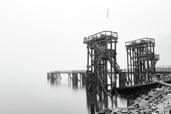 Industrial Pier - Art Print from Wallasso - The Wall Art Superstore
