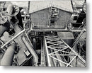 Industrial Steel Mill - Metal Print from Wallasso - The Wall Art Superstore