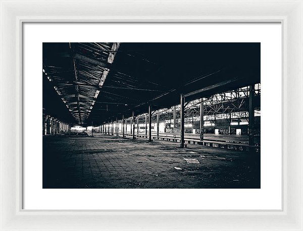Large Abandoned Warehouse - Framed Print from Wallasso - The Wall Art Superstore