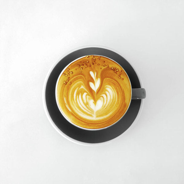 Latte Design In Coffee Cup - Art Print from Wallasso - The Wall Art Superstore
