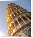 Leaning Tower of Pisa - Canvas Print from Wallasso - The Wall Art Superstore