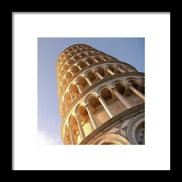 Leaning Tower Of Pisa - Framed Print from Wallasso - The Wall Art Superstore