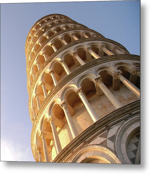 Leaning Tower of Pisa - Metal Print from Wallasso - The Wall Art Superstore