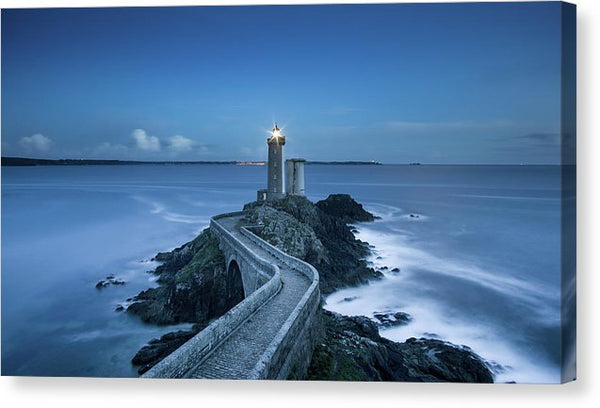 Lighthouse At Twilight - Canvas Print from Wallasso - The Wall Art Superstore