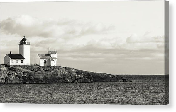 Lighthouse Panoramic - Canvas Print from Wallasso - The Wall Art Superstore