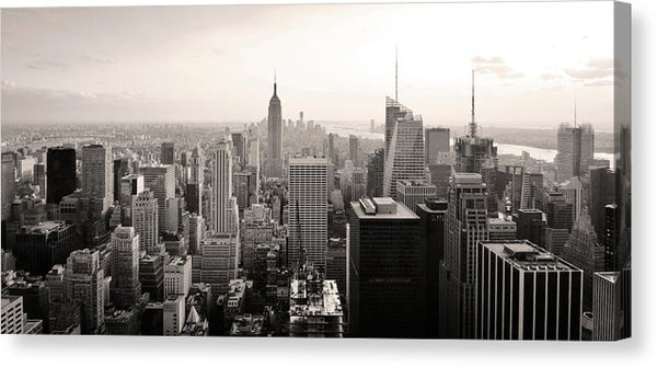 Manhattan Skyline, New York City - Canvas Print from Wallasso - The Wall Art Superstore