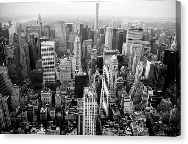 Manhattan Skyscrapers, New York City - Canvas Print from Wallasso - The Wall Art Superstore