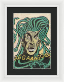 Medusa, Vintage Comic Book - Framed Print from Wallasso - The Wall Art Superstore