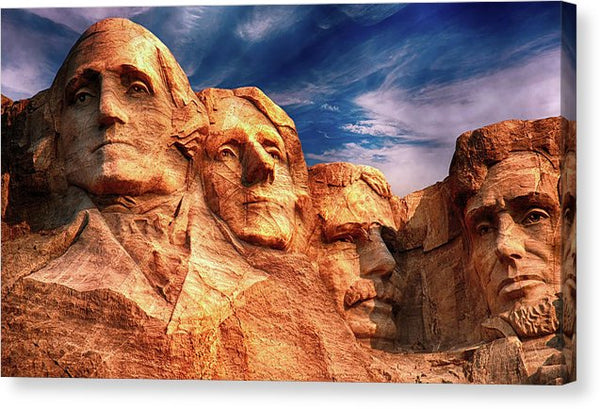 Mount Rushmore - Canvas Print from Wallasso - The Wall Art Superstore