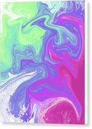 Multicolored Acrylic No. 3 by Jessica Contreras - Canvas Print from Wallasso - The Wall Art Superstore