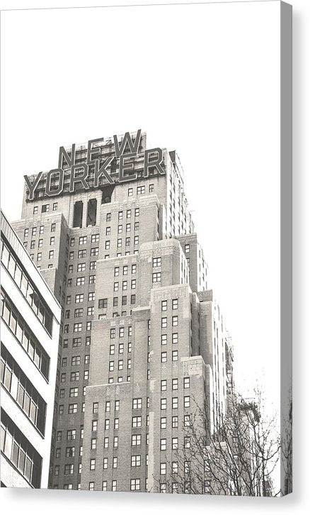 New Yorker Hotel, NYC - Canvas Print from Wallasso - The Wall Art Superstore