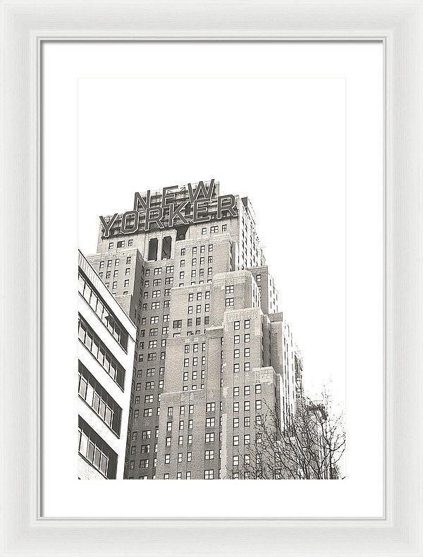 New Yorker Hotel, NYC - Framed Print from Wallasso - The Wall Art Superstore
