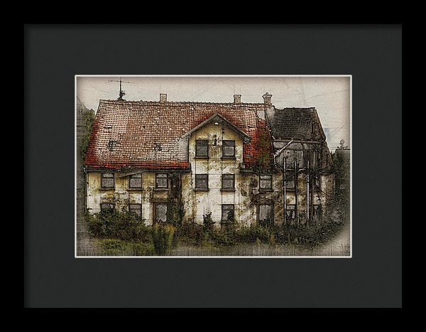 Old House - Framed Print from Wallasso - The Wall Art Superstore