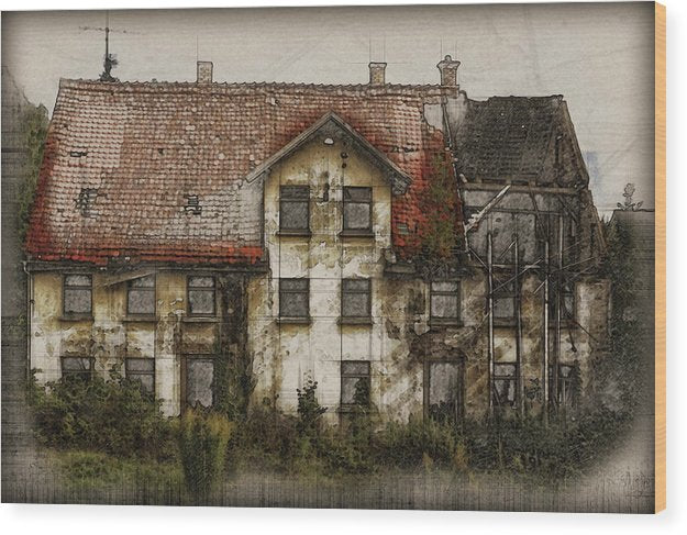 Old House - Wood Print from Wallasso - The Wall Art Superstore