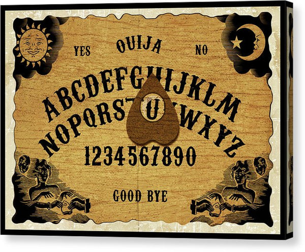 Ouija Board - Canvas Print from Wallasso - The Wall Art Superstore