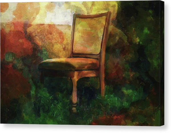 Painting of Household Chair - Canvas Print from Wallasso - The Wall Art Superstore